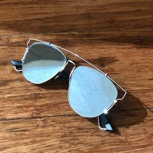 DIOR Technologic Mirrored Sunglasses // Worn Once